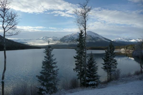 Blick auf den Tuzcha Lake